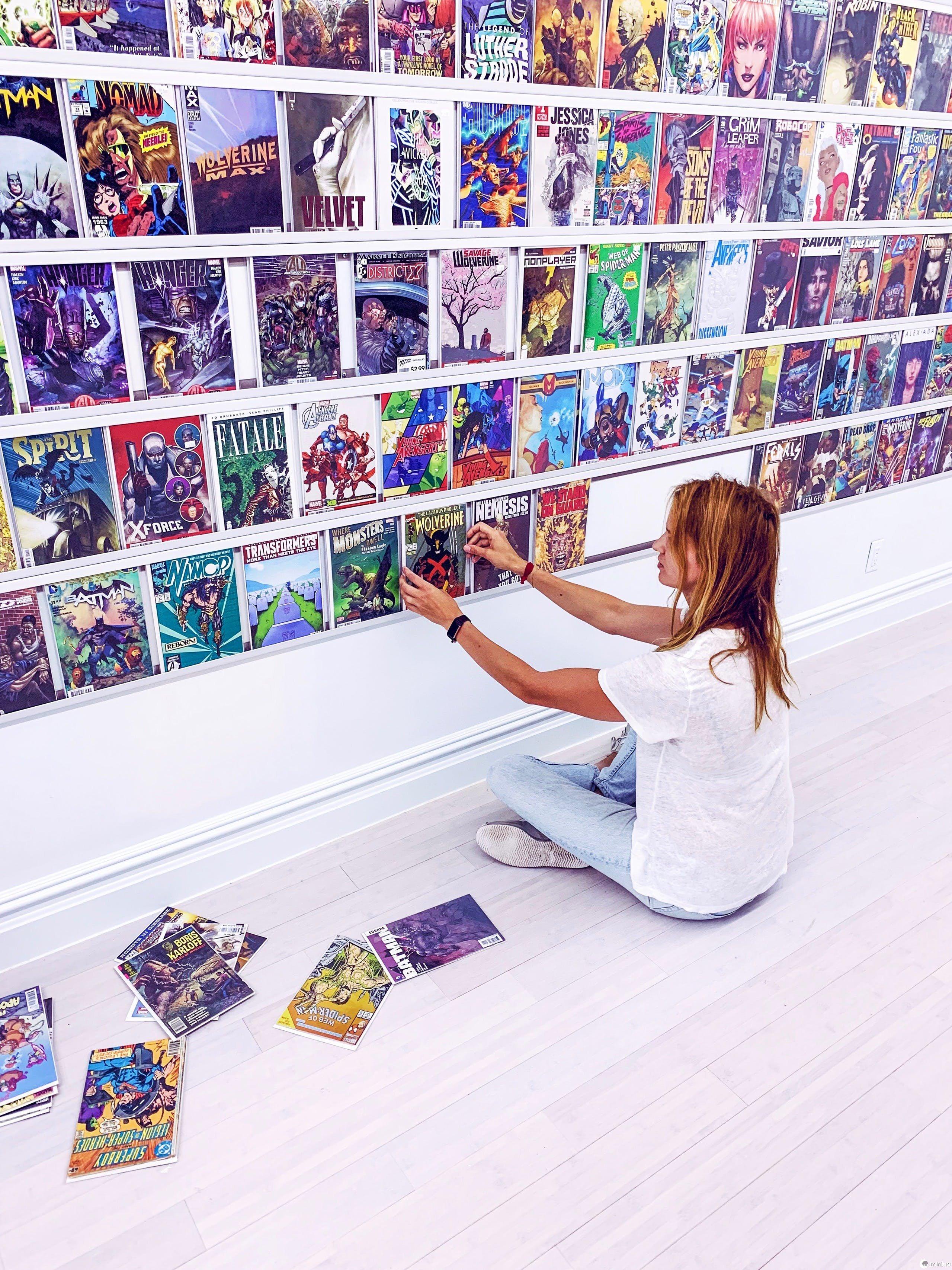 Brooklyn permite que crianças criem e vendam seus próprios quadrinhos