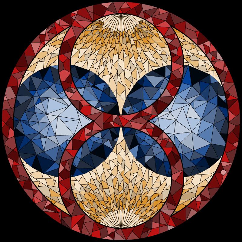 Het logo van Mendeleo