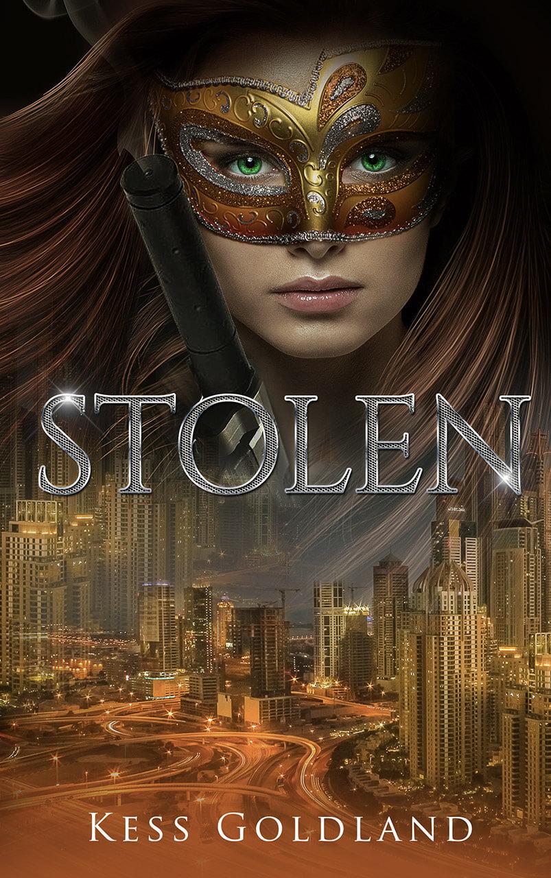Stolen Book Cover Design