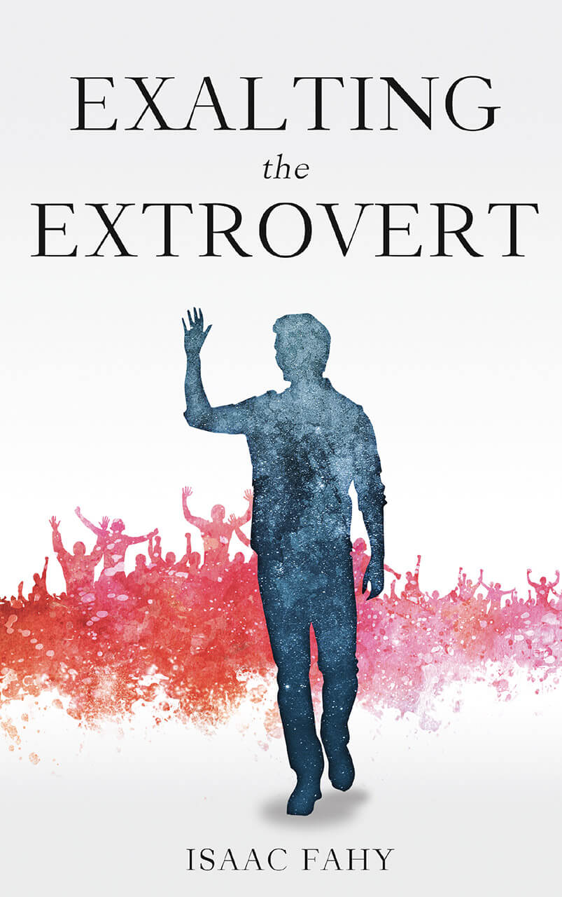 Exalting The Extrovert Book Cover Design