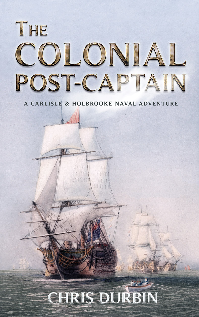 The Colonial Post Captain Book Cover Design