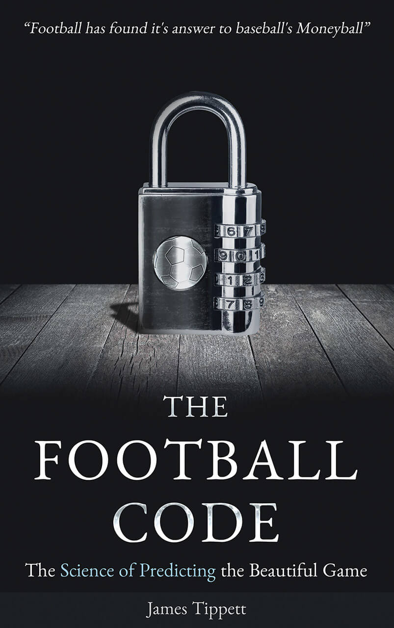 The Football Code Book Cover Design