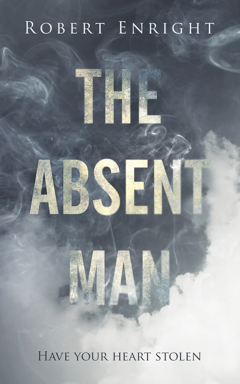 The Absent Man Book Cover Design
