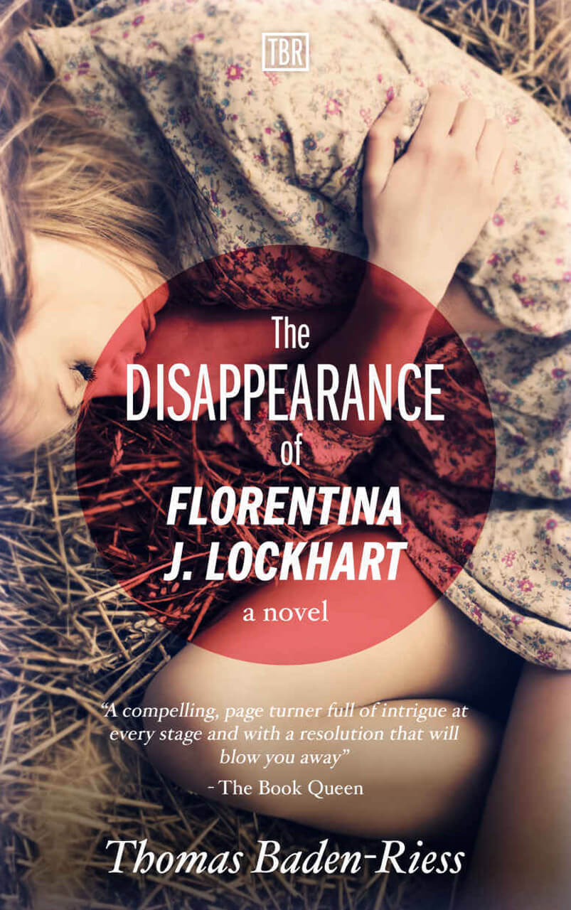 The Disappearance of Florentina Book Cover Design