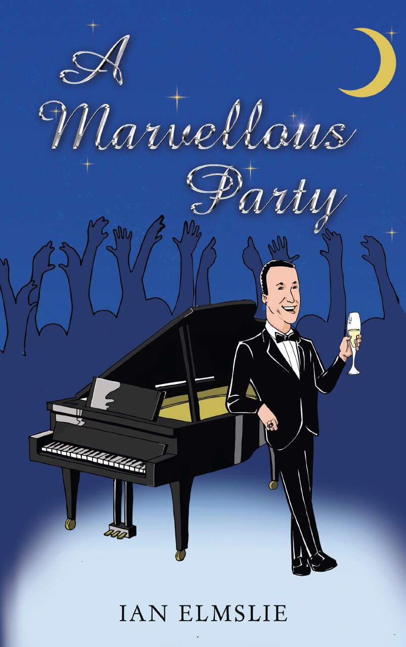 A Marvellous Party Book Cover Design Illustration