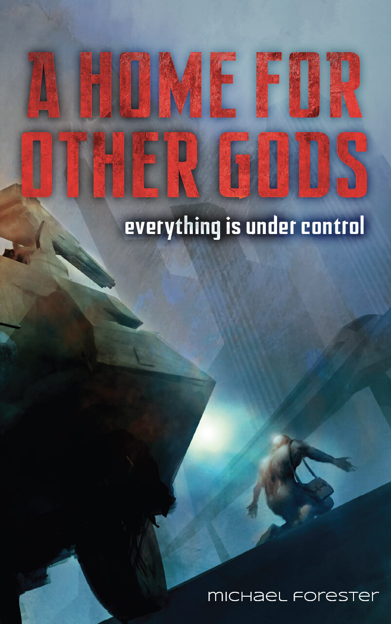 A Home For Other Gods  Book Cover Design Illustration