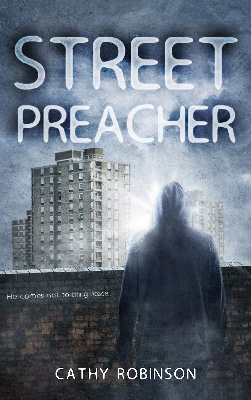 Street Preacher Book Cover Design