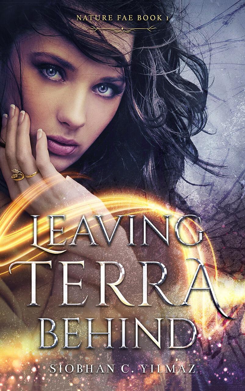 Leaving Terra Behind Book Cover Design