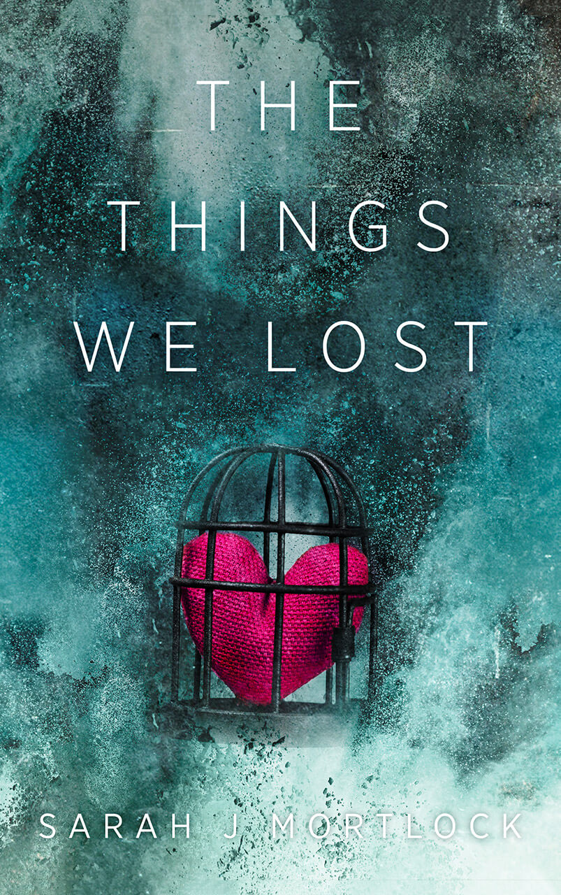 The Things We Lost Book Cover Design