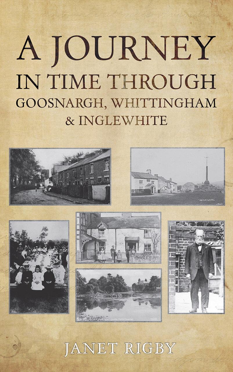 A Journey Through Time Book Cover Design