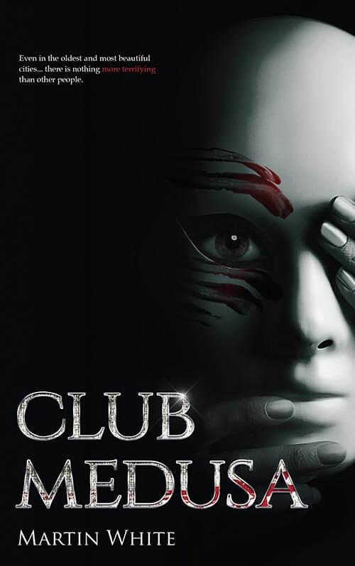 Club Medusa Book Cover Design