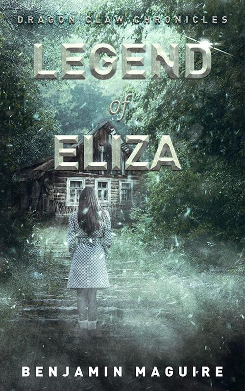 Legend of Eliza Book Cover Design