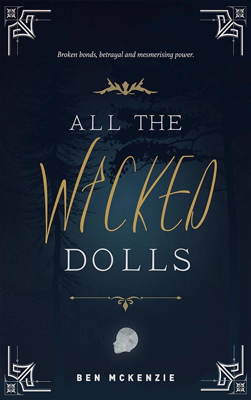 All The Wicked Dolls Book Cover Design