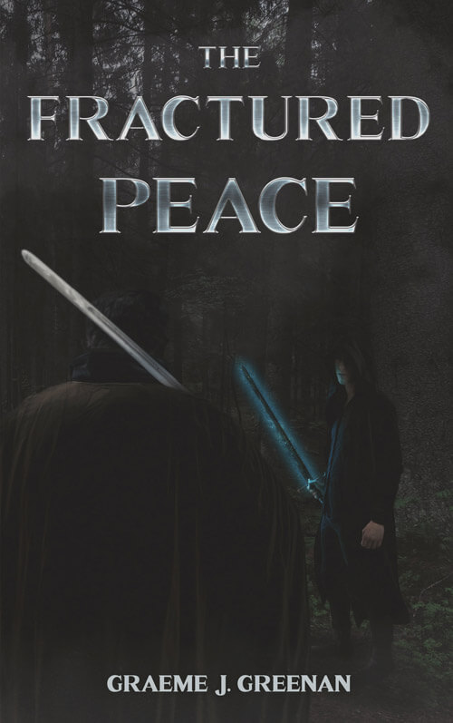 The fractured peace book cover