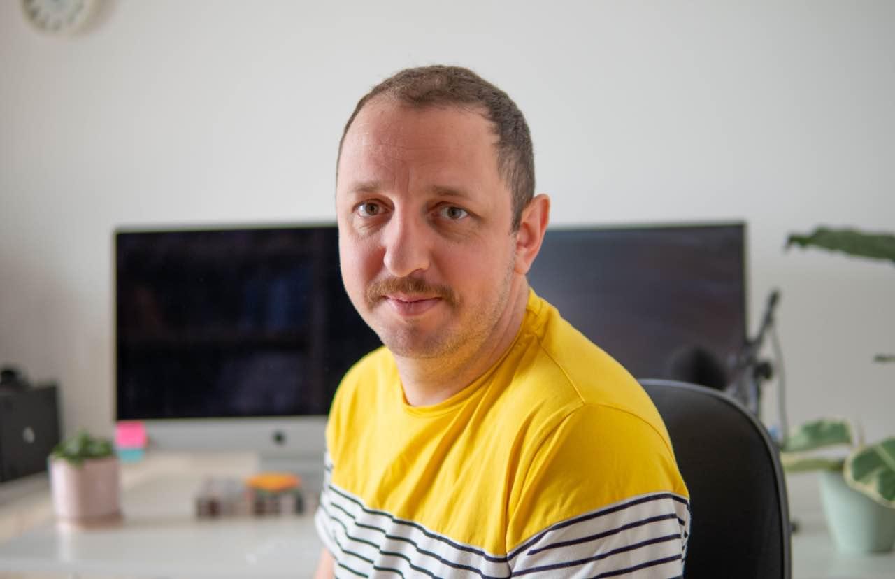 תמונה של מיכאל שוורץ מעצב גרפי ומפתח אתרים