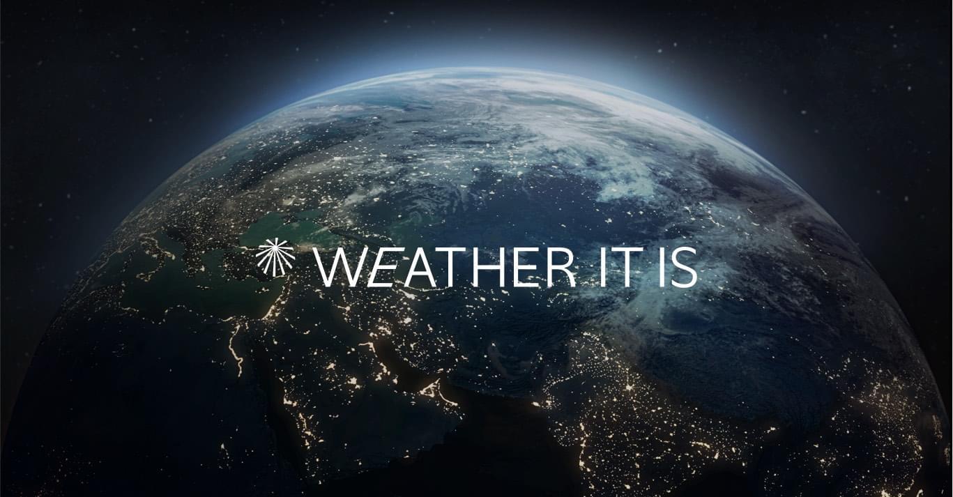 תמונה של הלוגו של חברת WEATHER IT IS