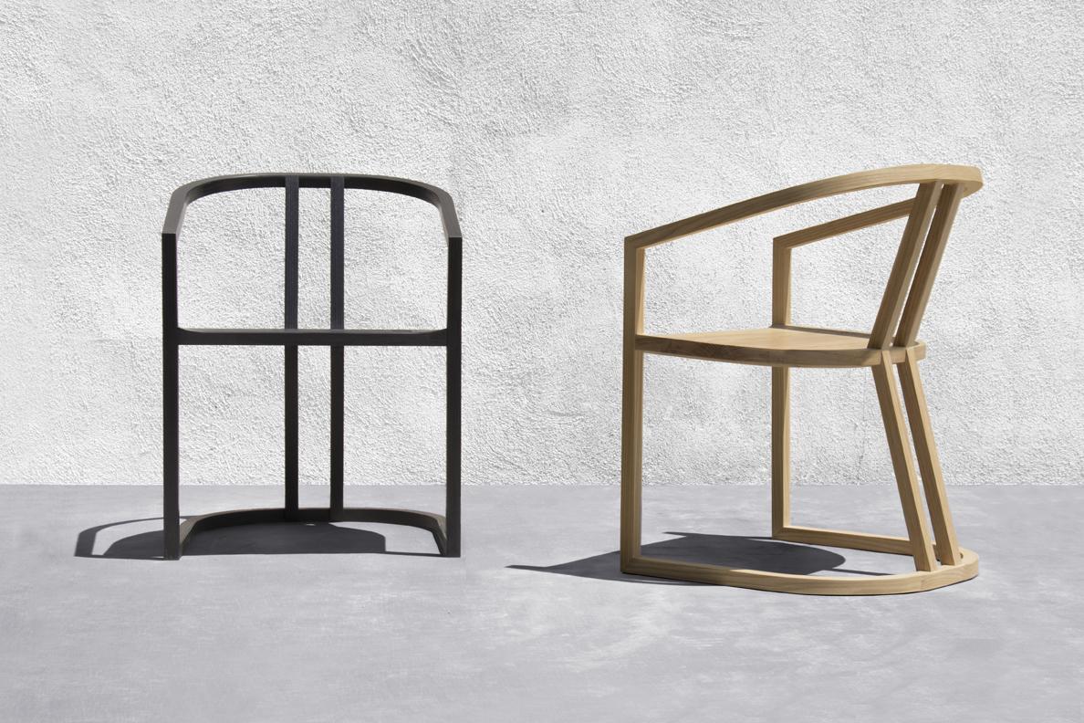 UKB Chair designed by Jennifer Yoko Olson for Base 10 Furniture