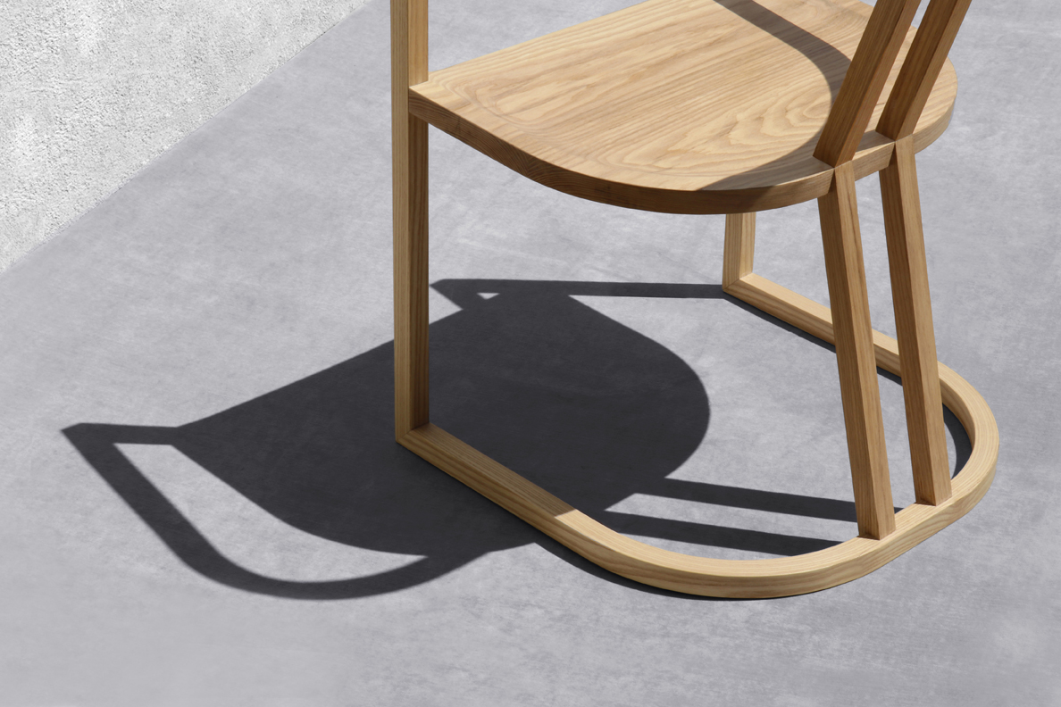 UKB Chair designed by Jennifer Yoko Olson for Base 10 Furniture