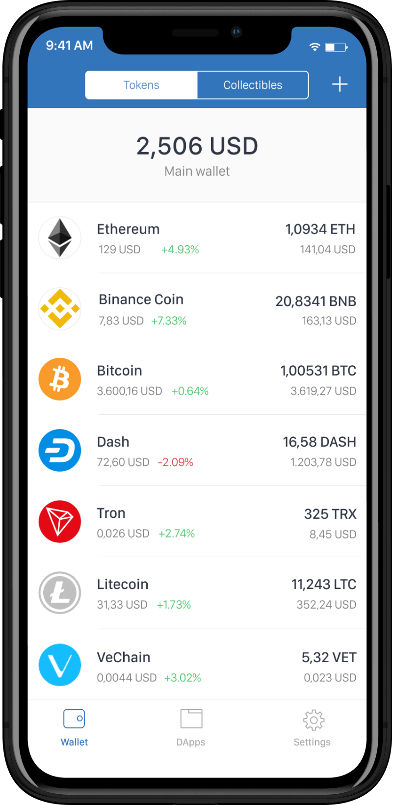 ethereum-wallet-mobile