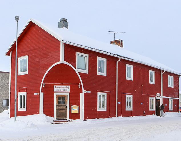 Rum i Kalix ligger i ett av Kalix äldsta hus, byggt 1930.