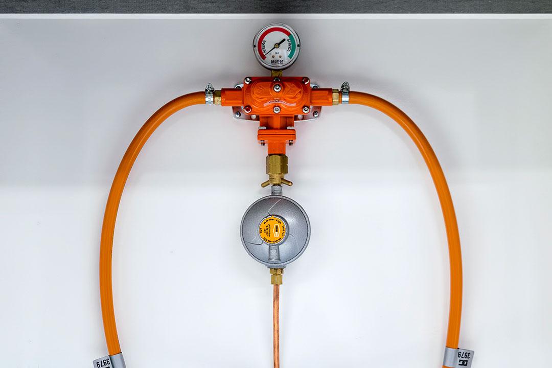 Scanvogn pionervogn gasomskifter