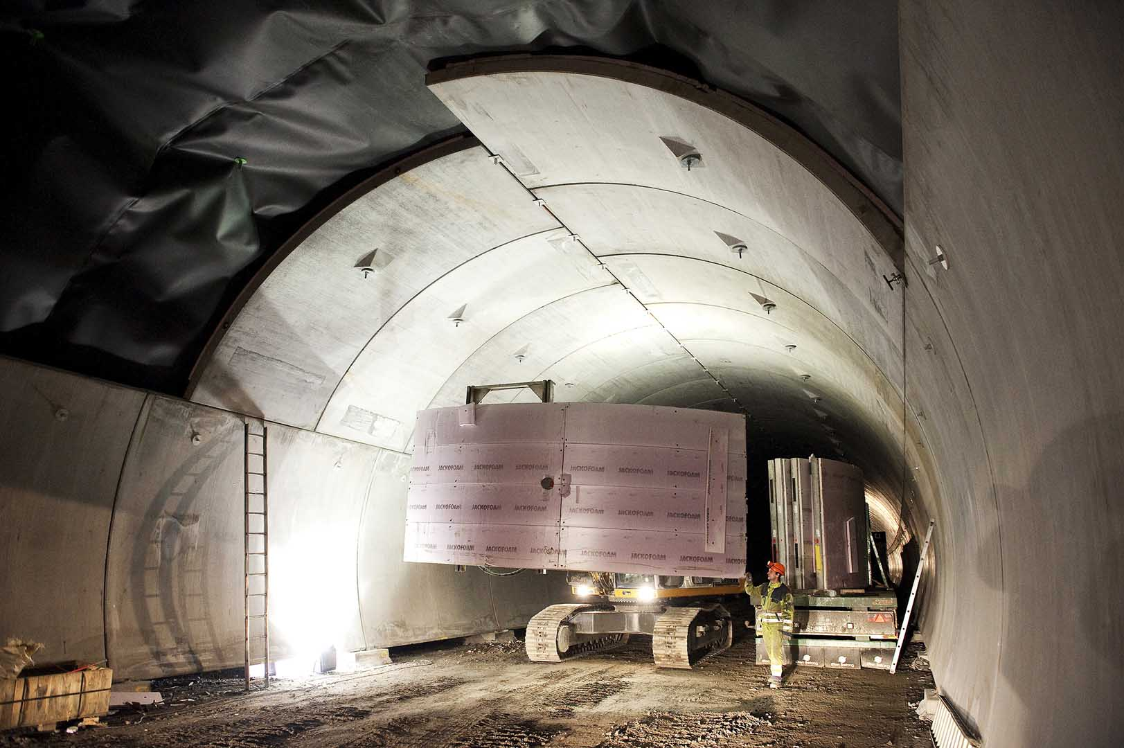 Concrete Solutions Securing Tunnels