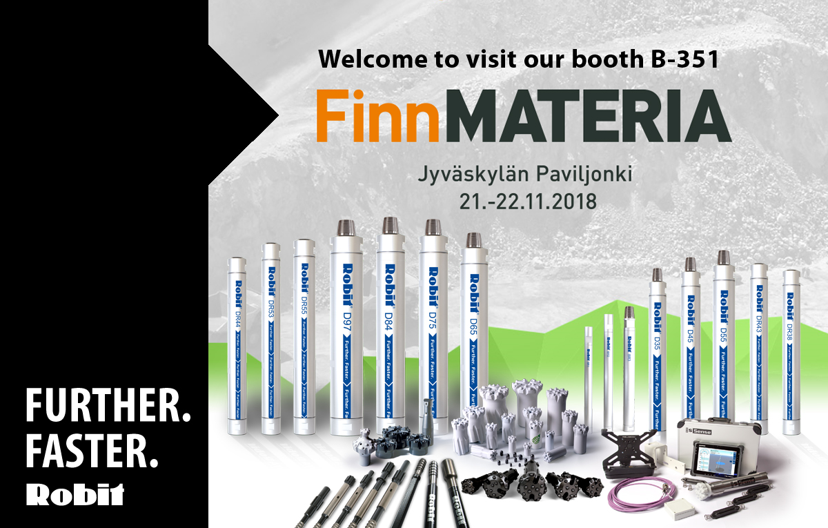 Welcome to visit us at Finnmateria, 21-22 November in Jyväskylä, Finland