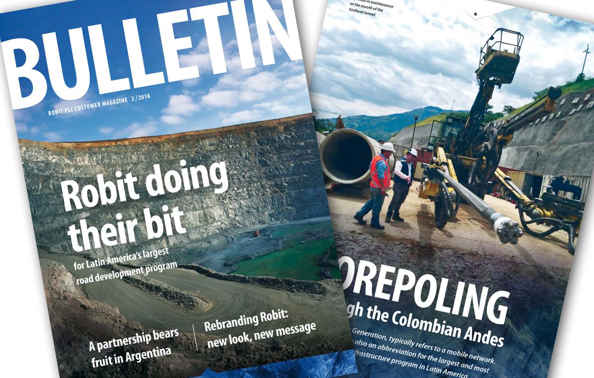 Robit Bulletin 2/2018 published