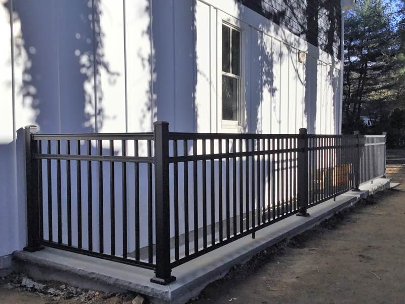 Railing installed in Huntington NY