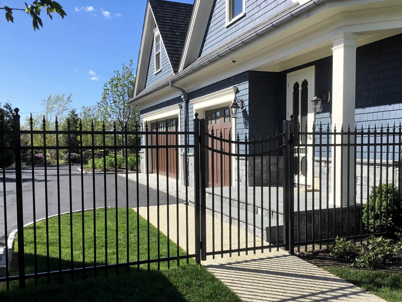 Aluminum Fence installed in Southampton NY