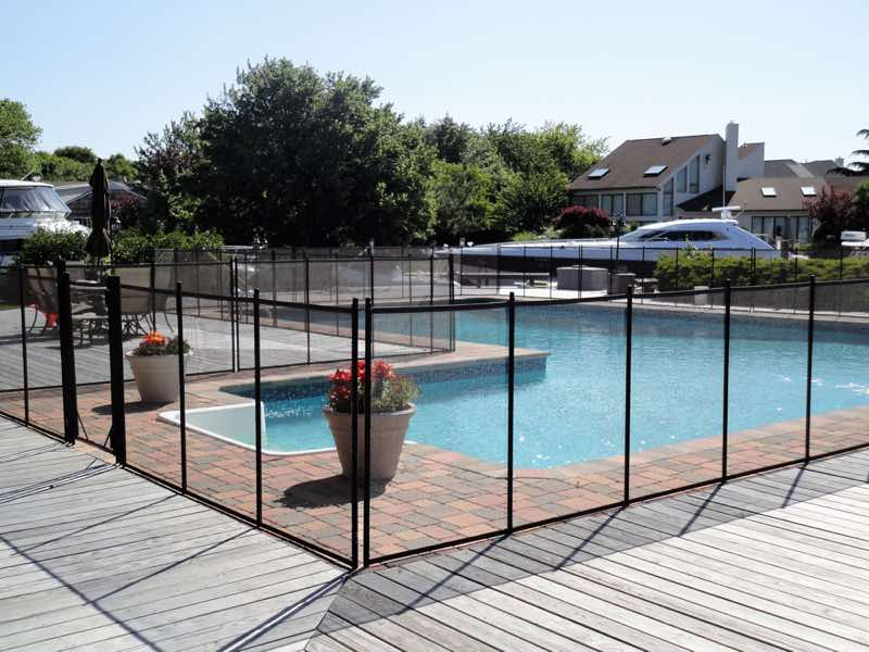 Guardian Pool Fence installed in Southold New York