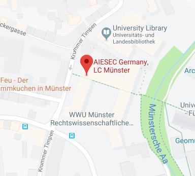 AIESEC in Münster   Unsere Standorte
