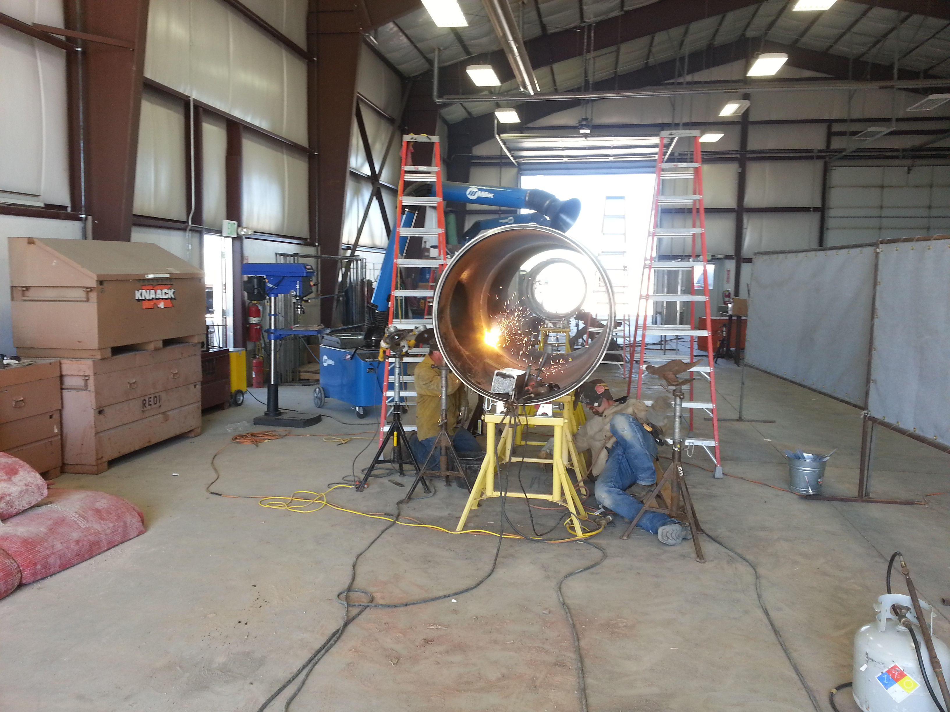 Redi Services | Industrial Mechanical, Piping, and Metal Building