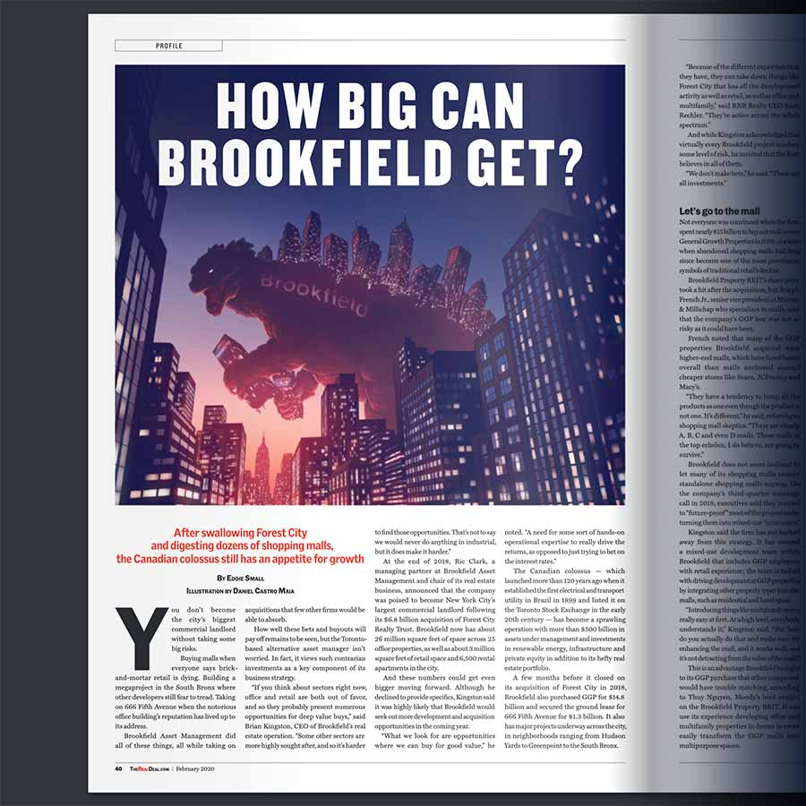 February 2020 - How Big Can Brookfield Get?