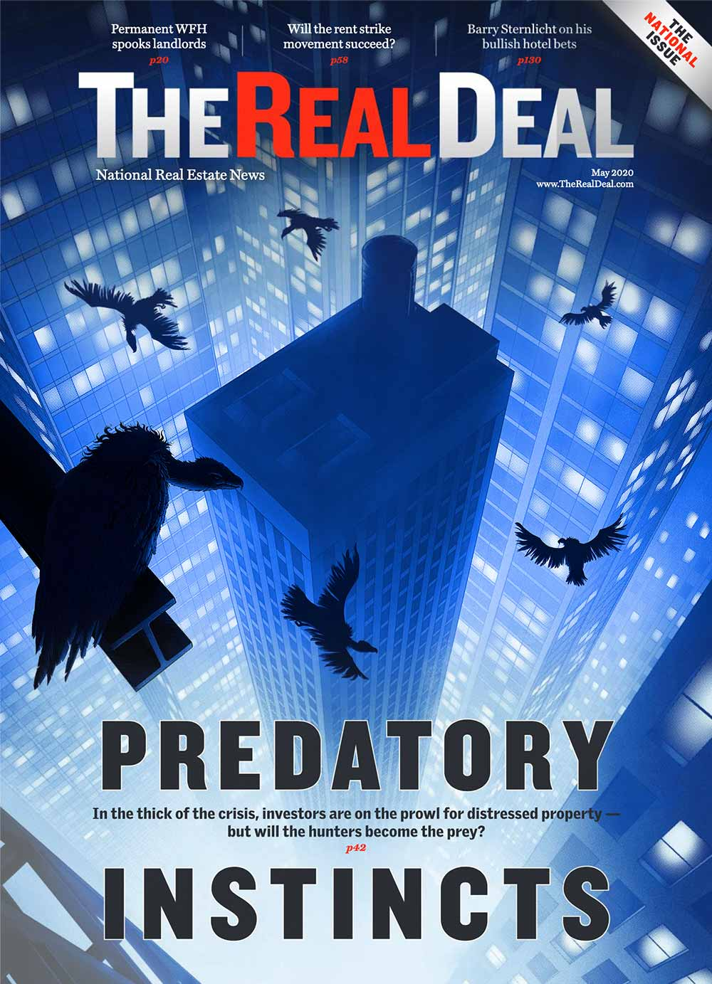 May 2020 Cover - Predatory Instincts
