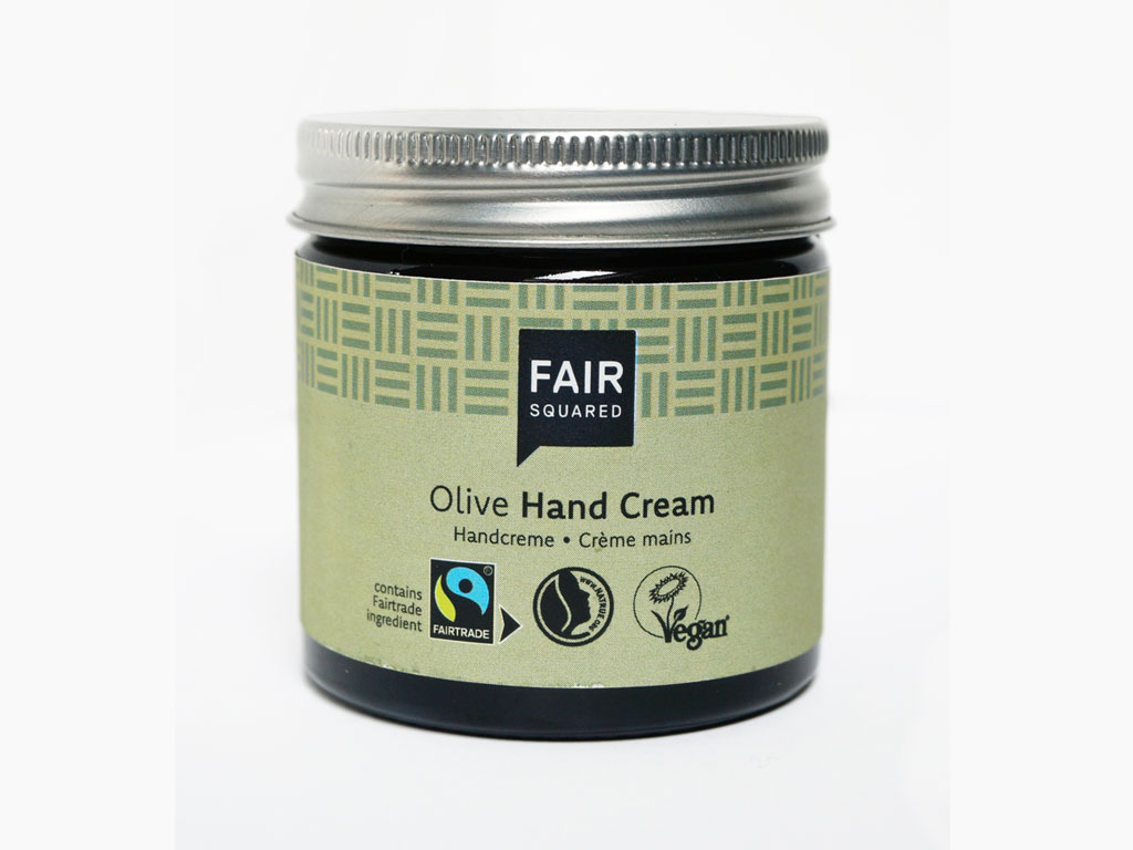 FAIR SQUARED Olive Hand Cream | BeoVERDE.ie