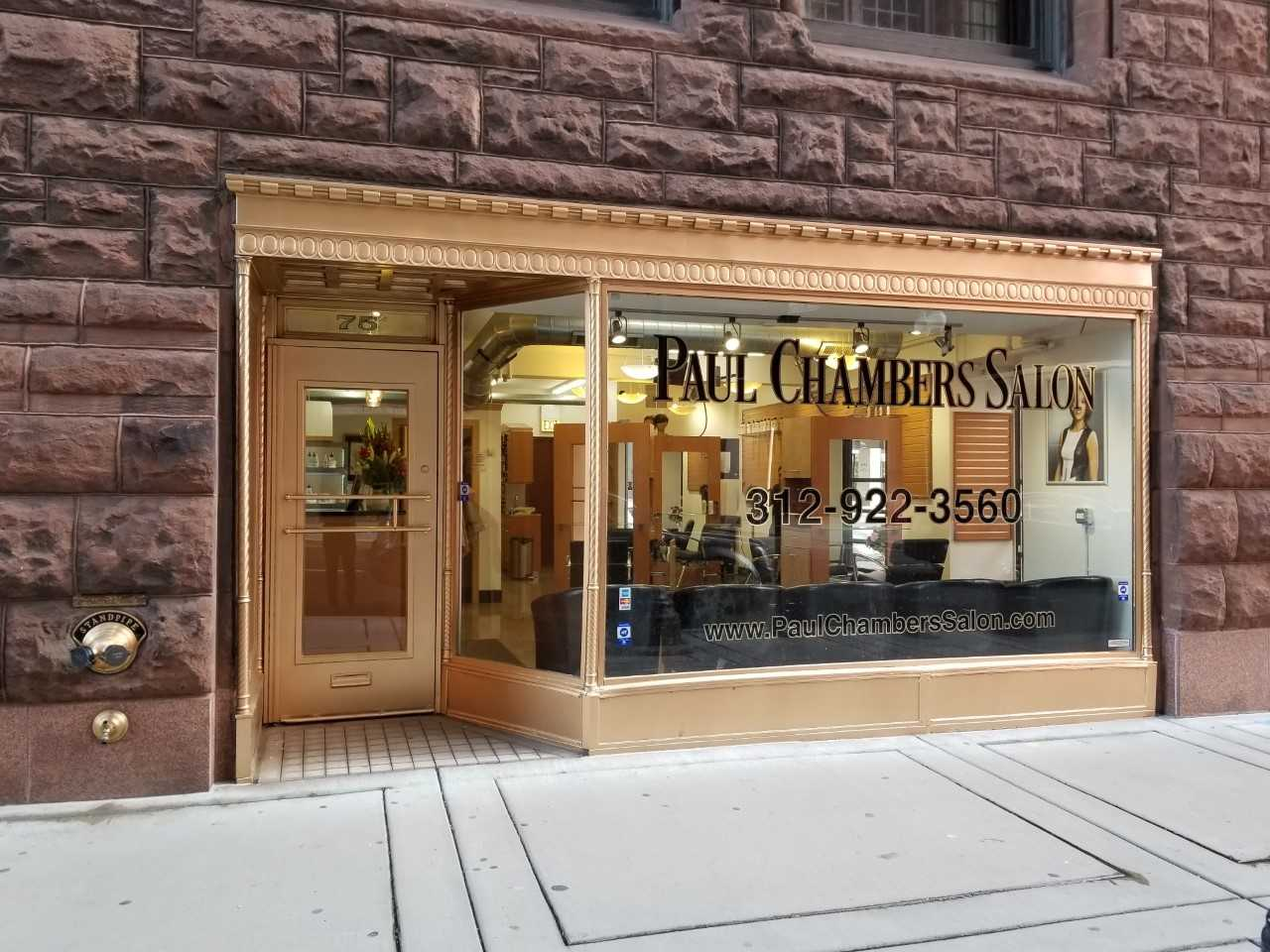 Outside of Paul Chambers Salon