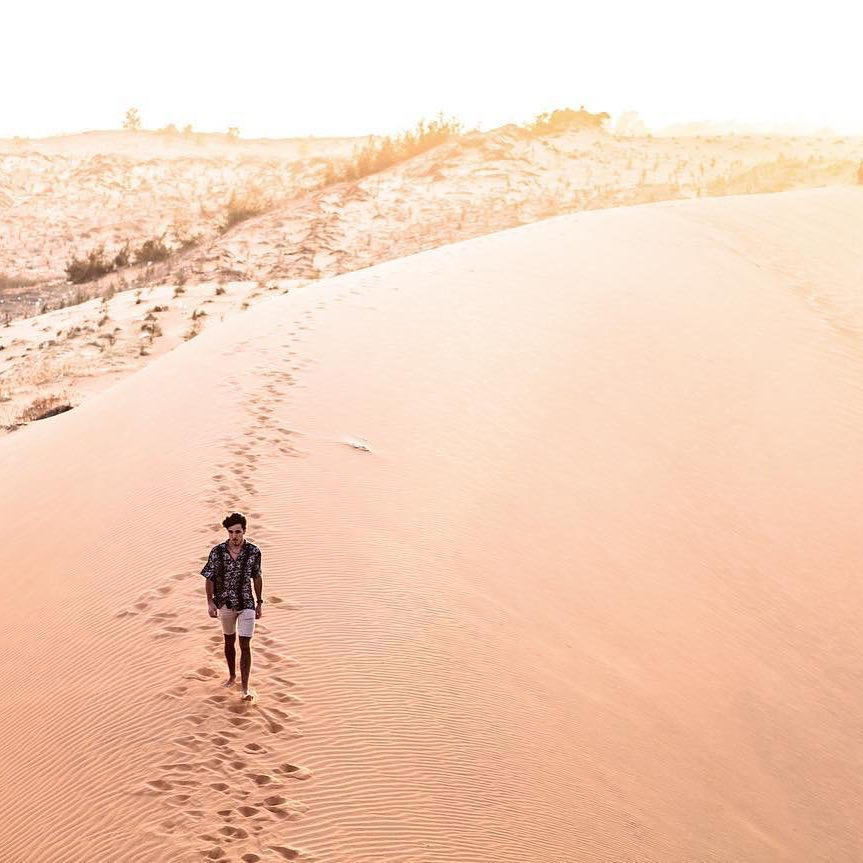 Red Sand Dunes in Vietnam by Matt Sherwood on Remote Year