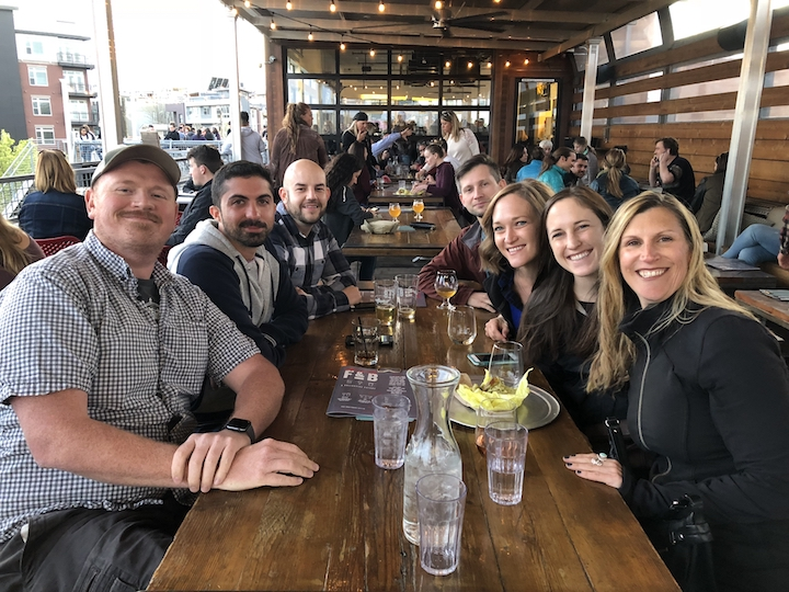 Remote Year Dinner Around the World in Denver