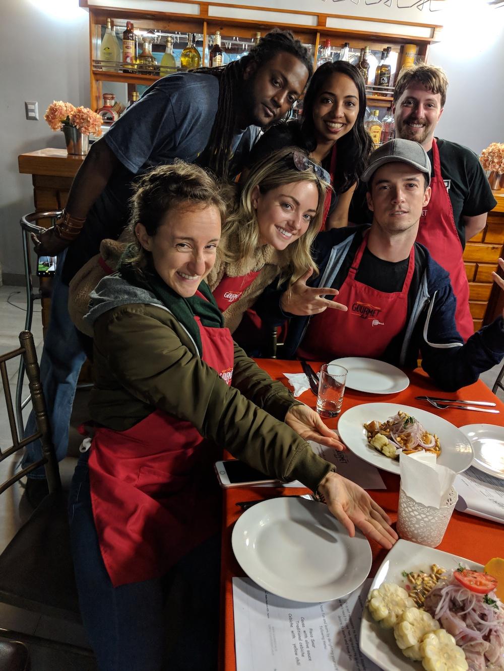 Ceviche Chef for a Day Plus Event Lima Peru | Remote Year