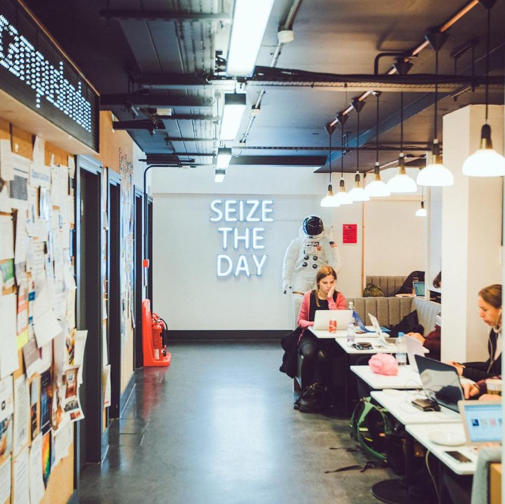 Campus London Coworking in London, England | Remote Year