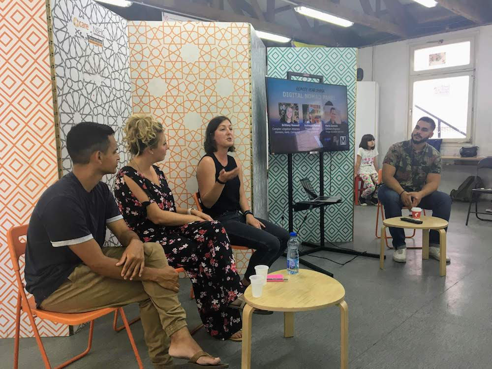 Remote Year Ohana's How to Become a Digital Nomad Panel in Belgrade Serbia