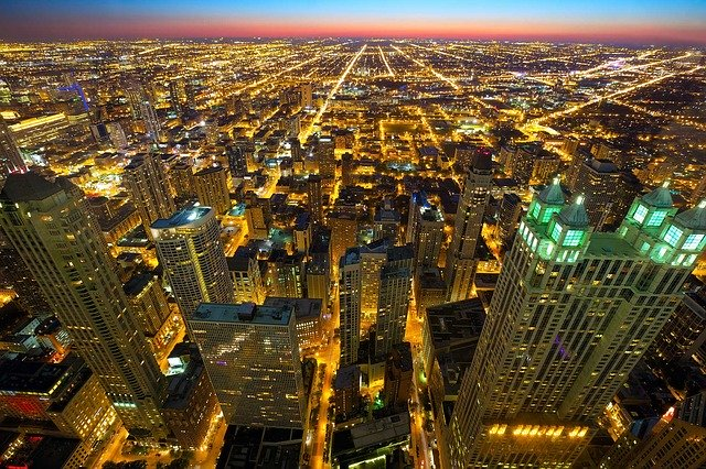 Record chicago office space vacancies, available chicago office space, Chicago office market update.