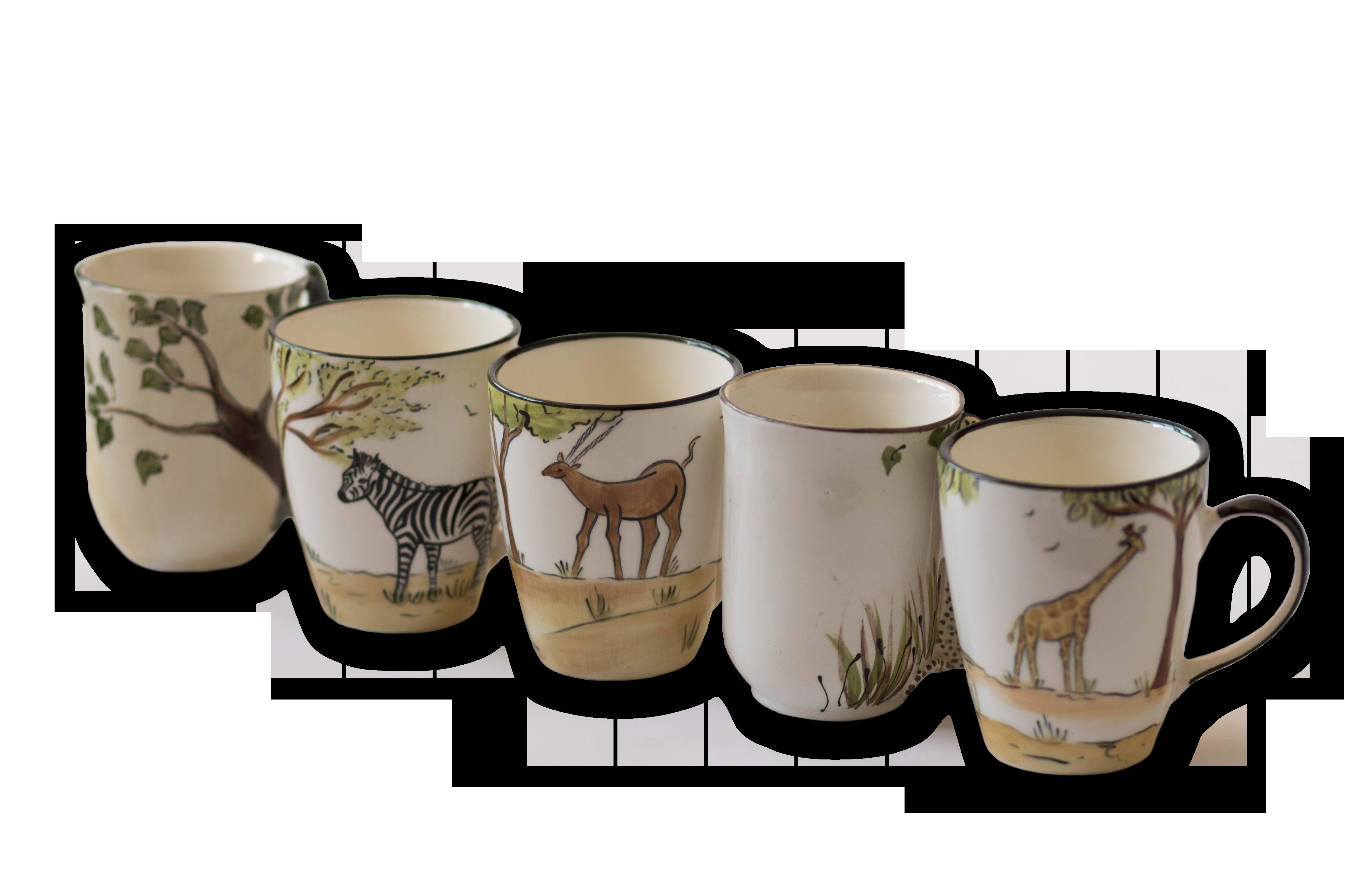 Bayede! African Ceramic Mugs