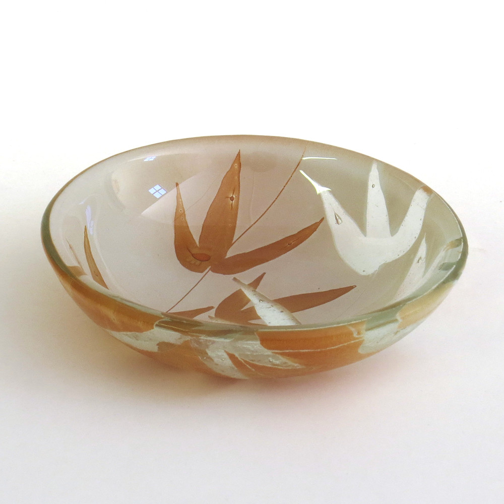 Bayede! Pate Brown Bamboo Glassbowl