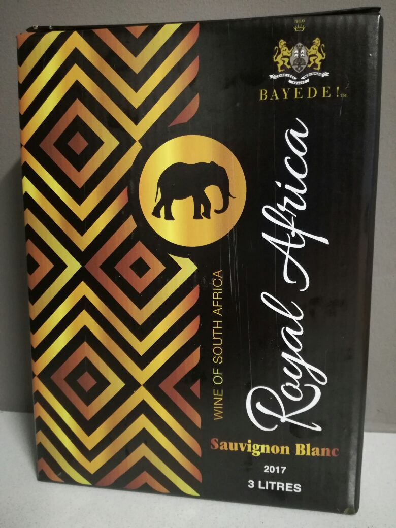 Bayede! Royal African Wine Bag in a Box