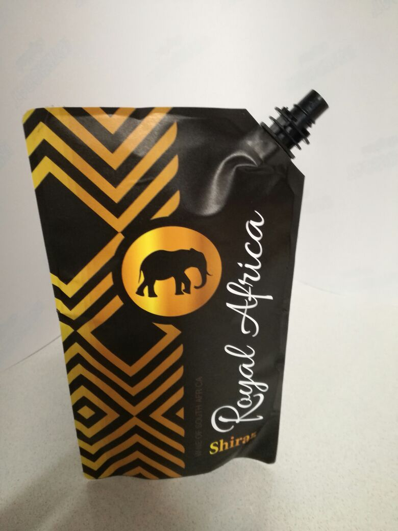Bayede! Royal Africa Wine Pouch