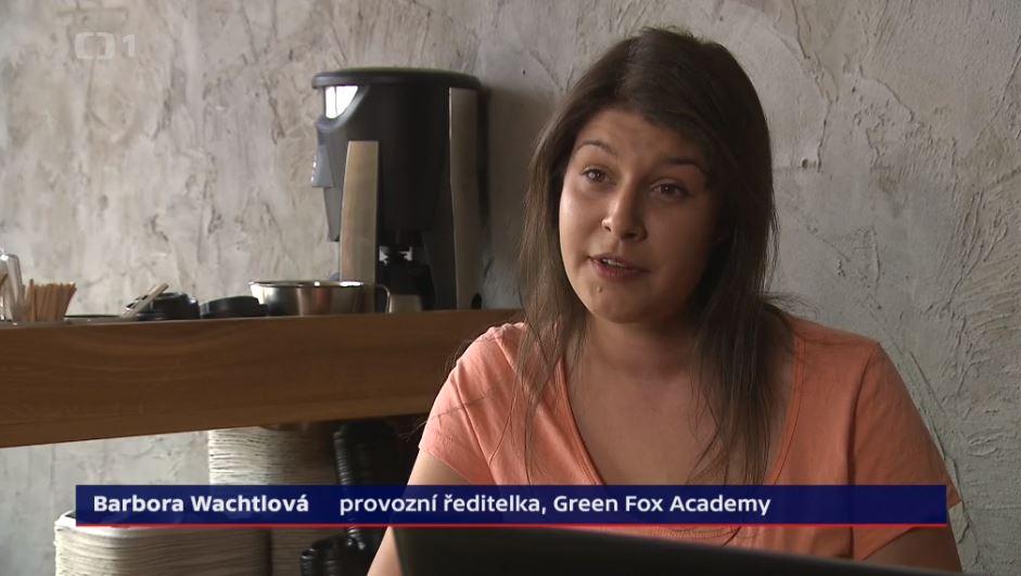 green fox academy barbora wachtlova česká televize