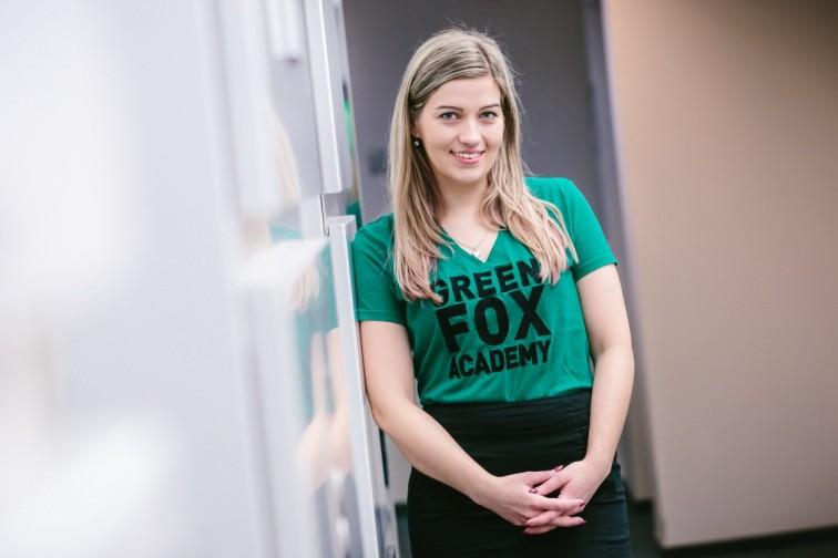 jiřinka, junior mentorka green fox academy