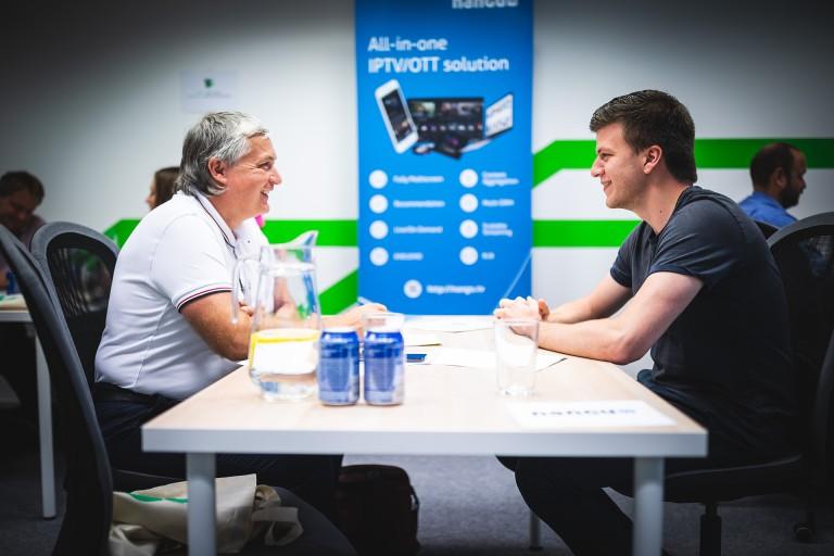 tech talent speed date green fox academy